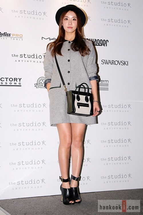 "Jung Yoo Mi at ""2014 S/S Seoul Fashion Week"""