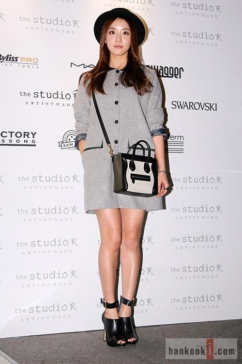 """Jung Yoo Mi at """"2014 S/S Seoul Fashion Week"""""""