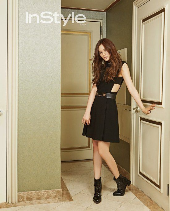 "Afterschool's Nana for ""InStyle"" fashion magazine."