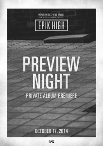 Epik High Preview Night