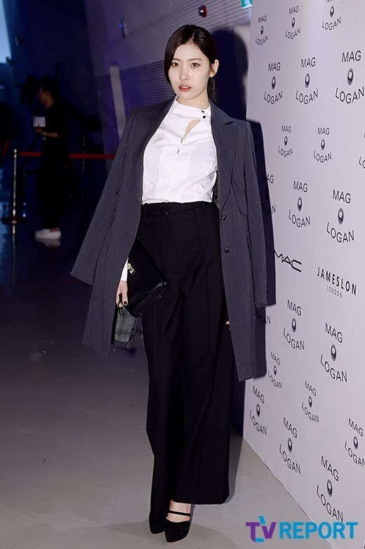"Sunmi at ""2015 S/S Seoul Fashion Week"""