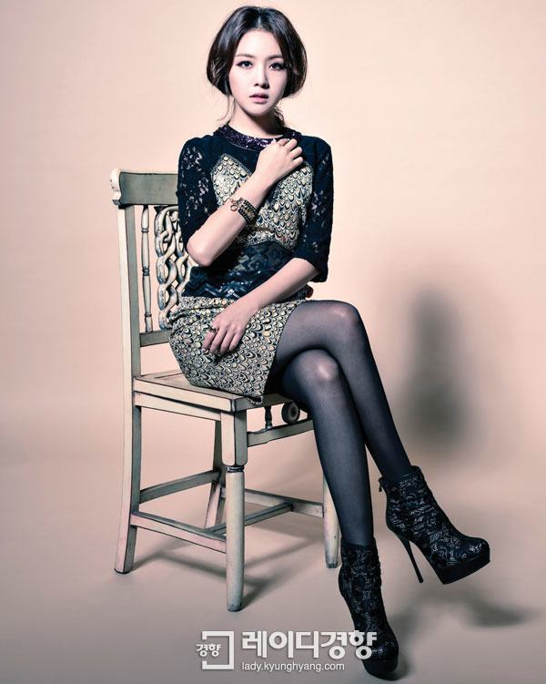 "Photo of ""Elegant Glam,"" Minah with a fancy mini dress to execute a glamorous look."