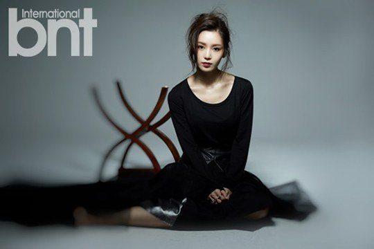 Nam Gyuri photo-shoot for bnt