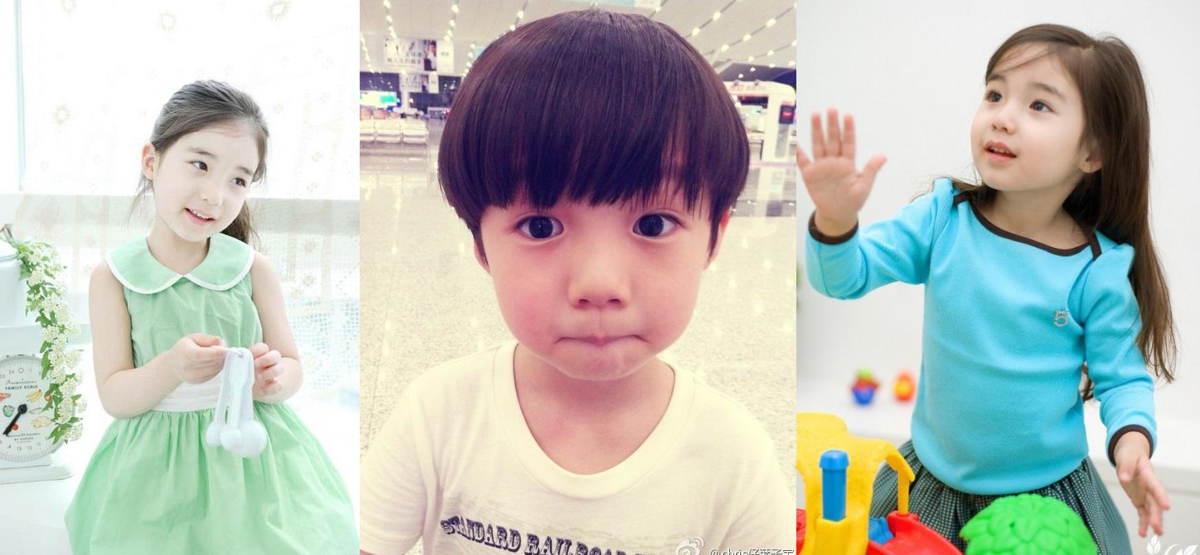 k-pop baby idols
