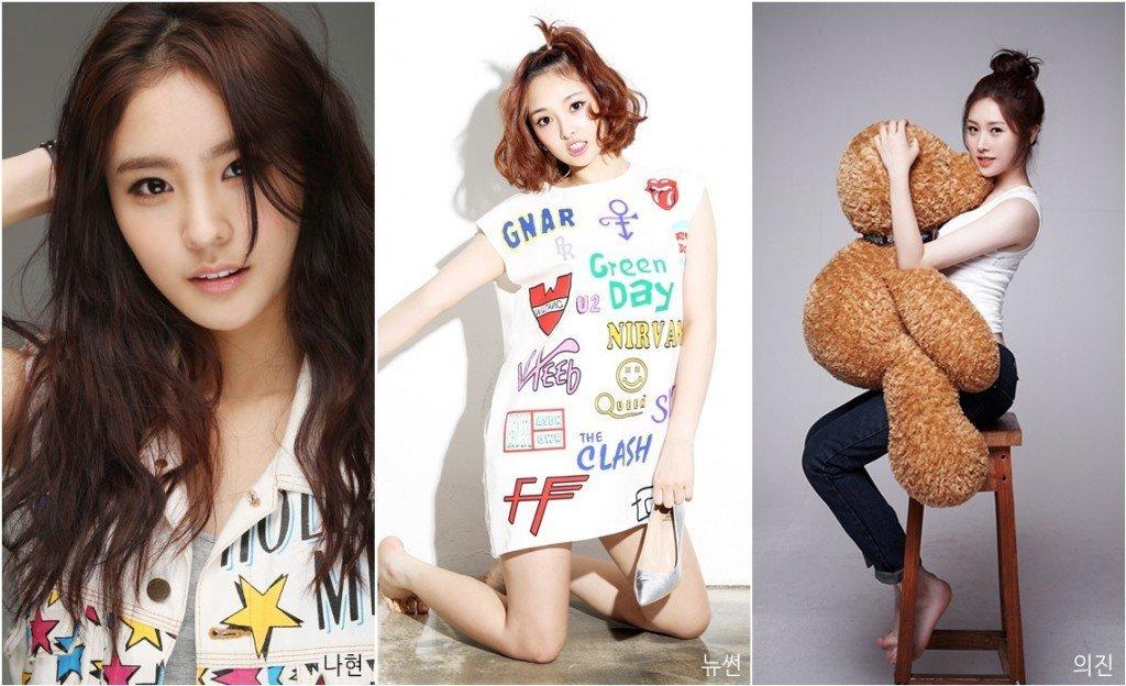 SONAMOO Na Hyun, New Sun, Euijin