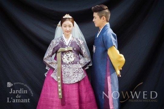 Hong Kyung Min and Kim Yuna  wedding shoot