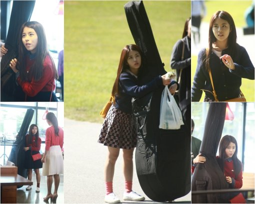"Still cuts of Dohee from ""Tomorrow Cantabile"""