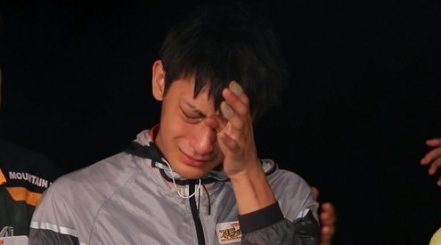 Tao crying on Laws of the Jungle