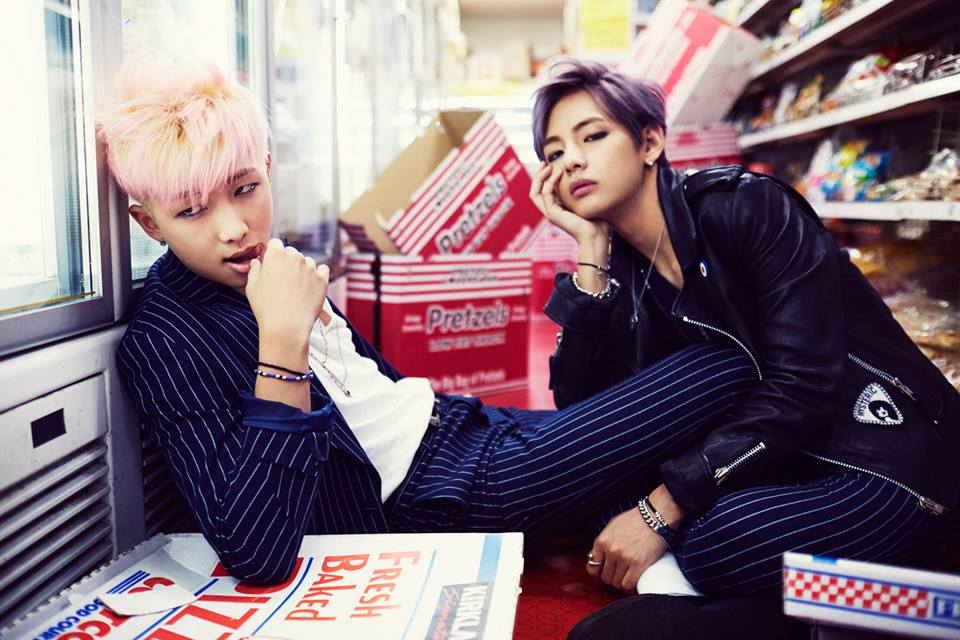 Hormone War - Rapmonster and V
