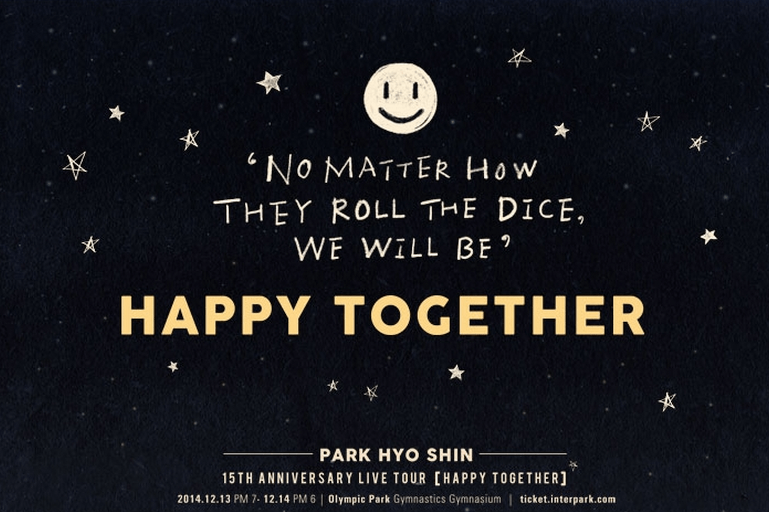 "Park Hyoshin ""Happy Together"""