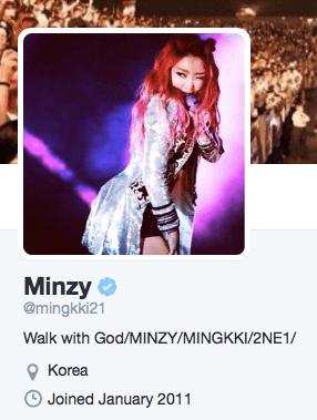Minzy Twitter