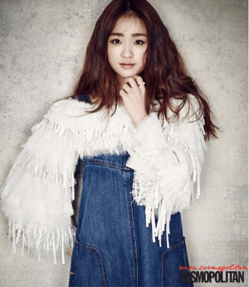 "Son Yeon Jae for ""Cosmopolitan"""