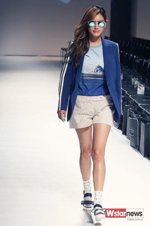 "Jae Kyung at ""2014 S/S Seoul Fashion Week"""