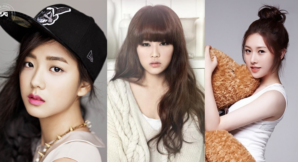 Official photos of upcoming girl group members
