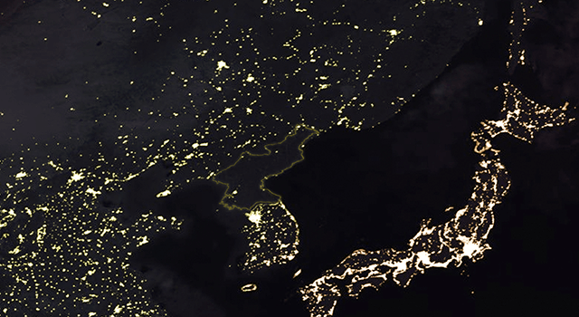 North Korea from Above