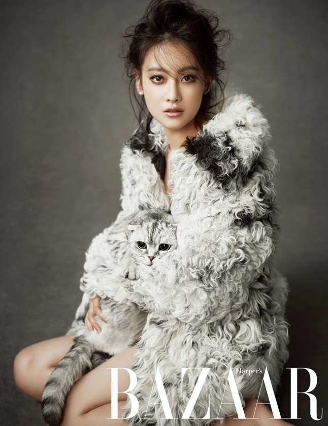 Oh Yeon Seo for Bazaar Magazine