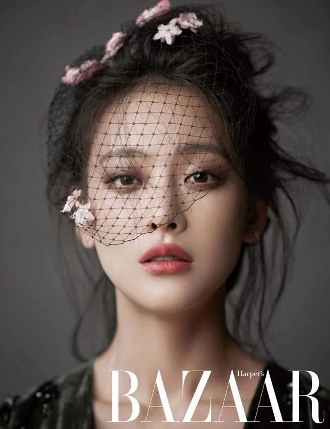 Oh Yeon Seo for Bazaar Magazine