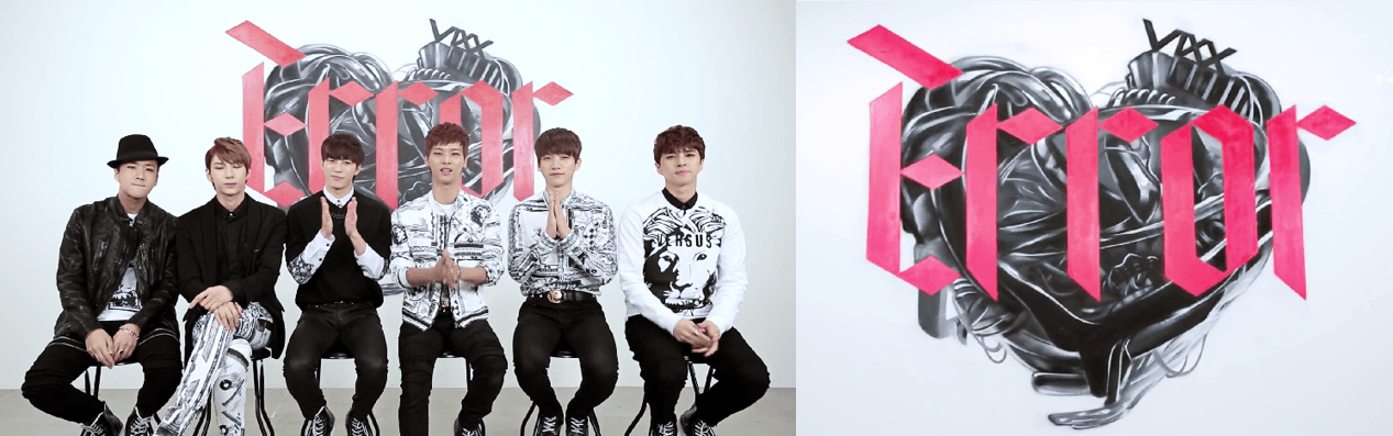 "Still from VIXX's ""#Hashtag"" interview"