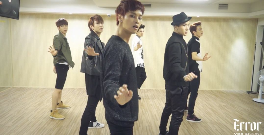 "VIXX ""Error"" Dance Practice cap"