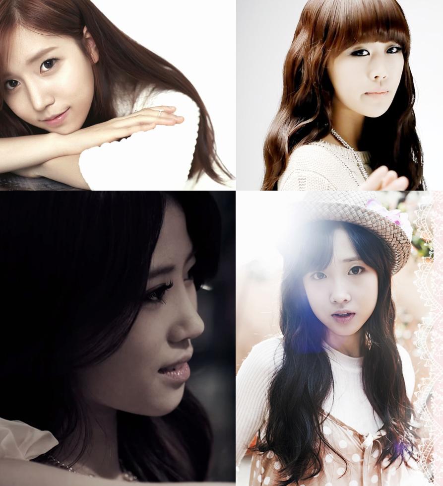 Official photos of Woollim Girls