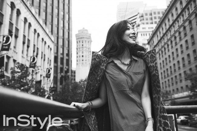 Park Shin Hye InStyle nov 2014
