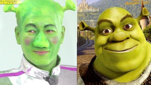 Ji Suk Jin; Shrek