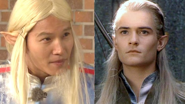 Kim Jong Kook is Legolas the Alien