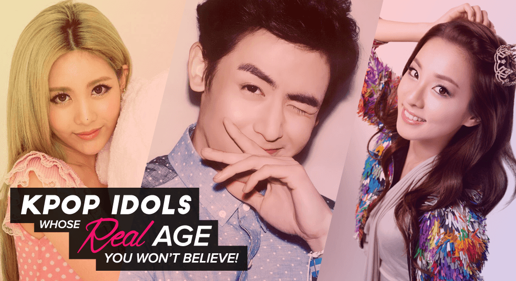 Kpop Idols Real Age You Wouldn't Believe