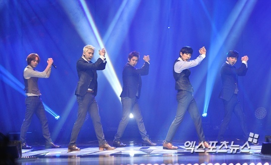 MBLAQ at Curtain Call concert in Seoul