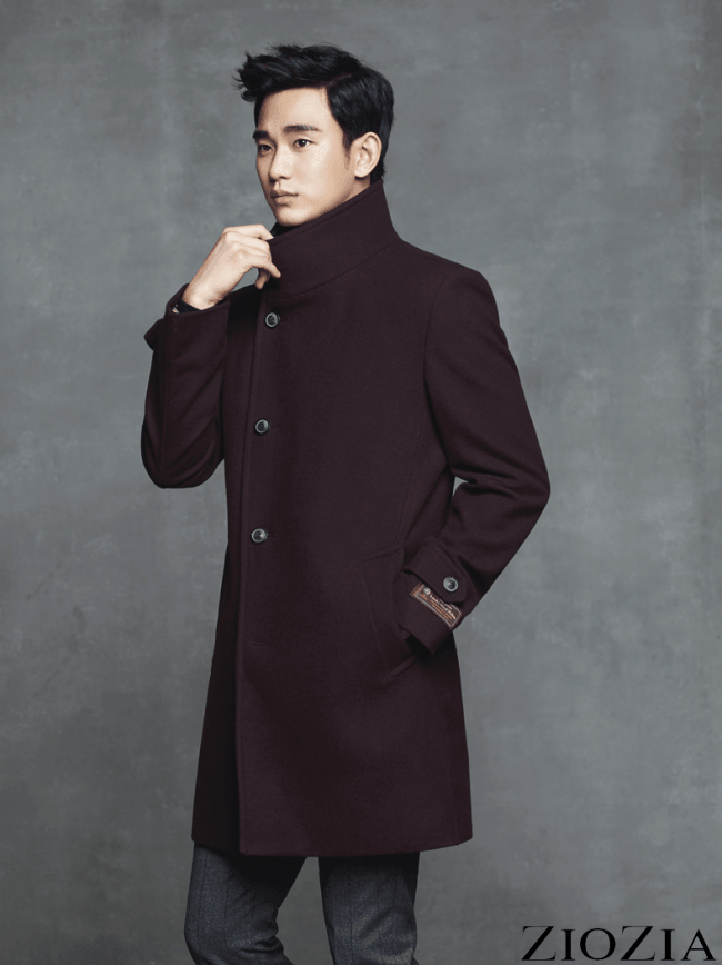 Kim Soo Hyun for ZioZia Nov 2014