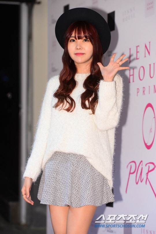 After School Raina at red carpet