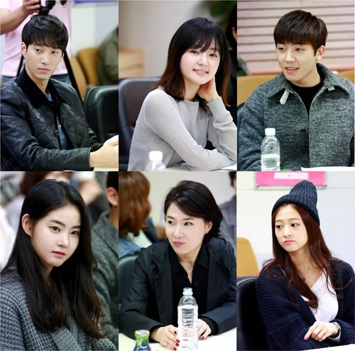 First script reading session of Sweden Laundry