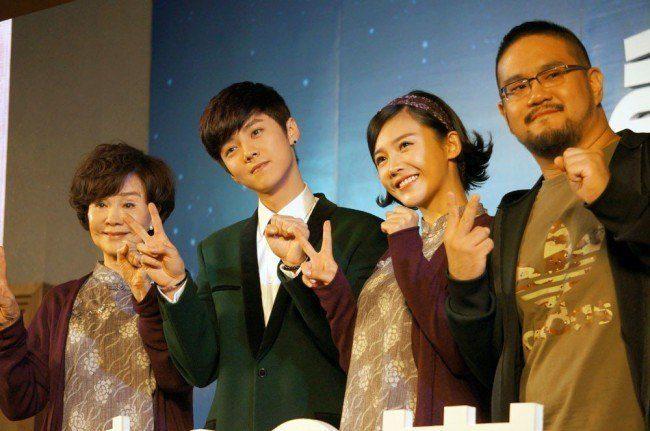 Luhan at Miss Granny Press Conference