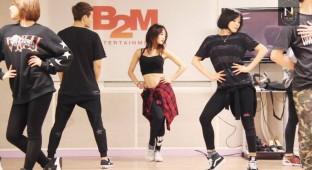 Nicole dance practice still