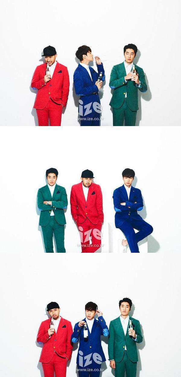 Three shades of Epik High for ize