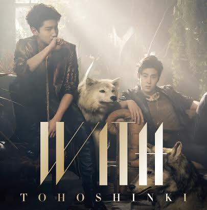 TVXQ WITH album cover Ver A