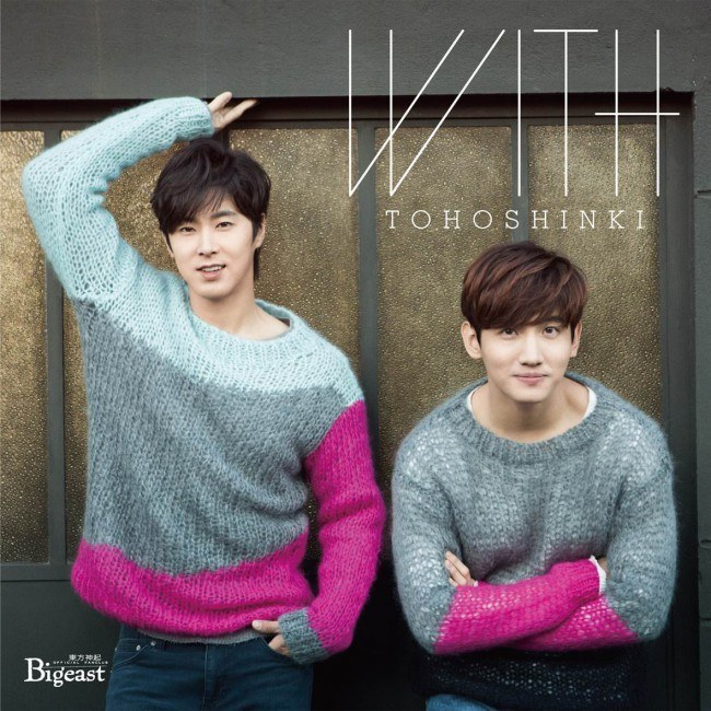TVXQ WITH album cover Ver D