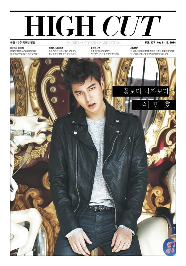 Lee Minho for High Cut Nov 2014