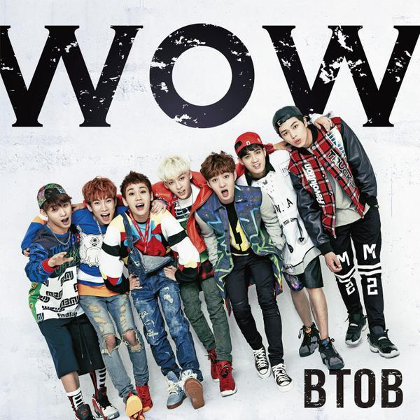 BTOB WOW Jap debut cover