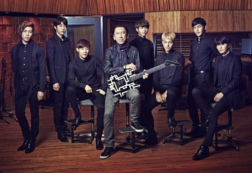 INFINITE working with Tomoyasu Hotei