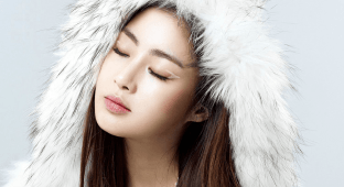 Kang Sora for Nylon Dec 2014