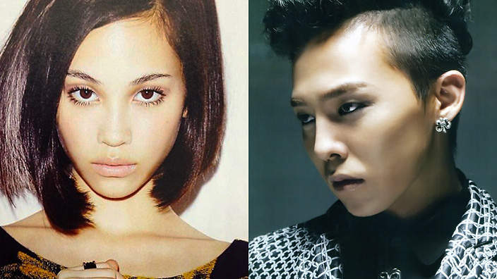G Dragon Girlfriend Kiko Mizuhara Kiko GDragon 704