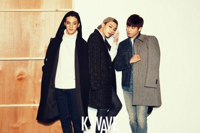 Teen Top posing for KWAVE