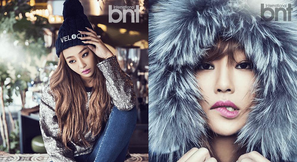"VIDEO] SISTAR's Hyorin stuns in hip photoshoot for ""bnt ...Hyorin 2014"