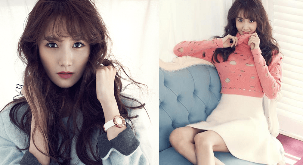 """Girls' Generation's Yoona is a classic beauty for """"InStyle ... Red Lipstick Photoshoot"""