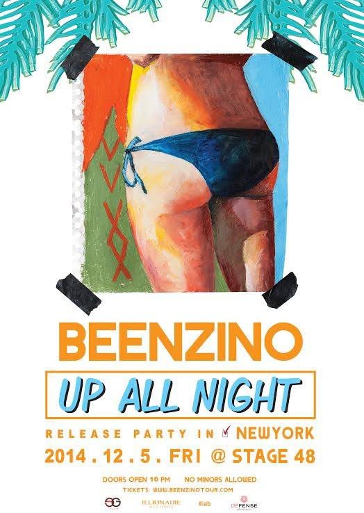 beenzino up all night