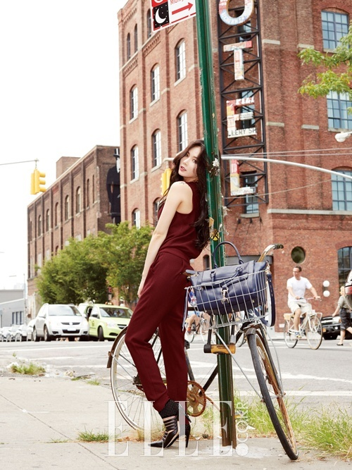 Hyuna for Elle Nov 2014