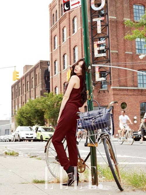 Hyuna for Elle Nov 2014