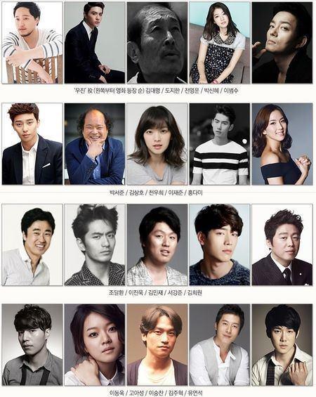 """Beauty Inside"" casting list"