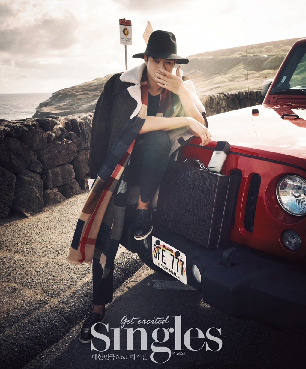 Chun Jung Myung for Singles Magazine
